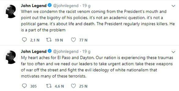 Rihanna, Cardi B chỉ trích ông Trump trong vụ xả súng phân biệt chủng tộc - Ảnh 5.