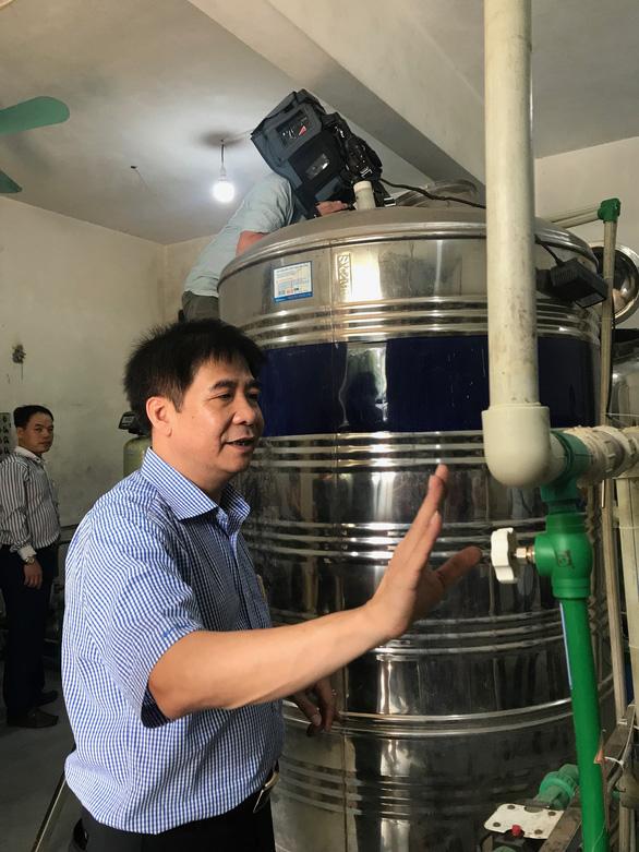 Phục dựng hệ thống cấp nước RO trong vụ tai biến chạy thận tại Hòa Bình - Ảnh 1.