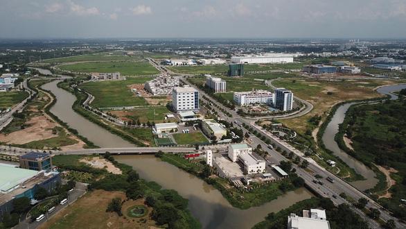 UBND TP họp báo: Ranh Khu công nghệ cao là 913 ha - Ảnh 1.