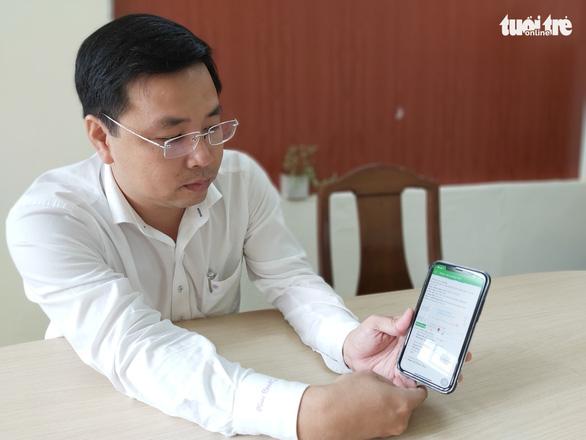 Dân gặp chính quyền qua app điện thoại - Ảnh 1.
