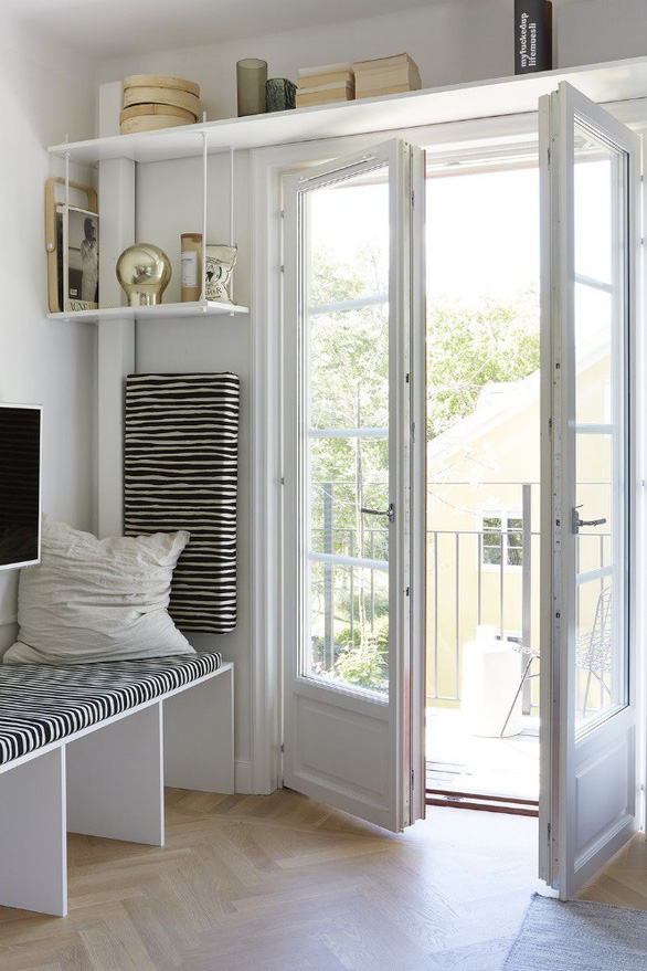 Sống trong nhà nhỏ không còn đáng lo nhờ các thiết kế sáng tạo - Ảnh 10.