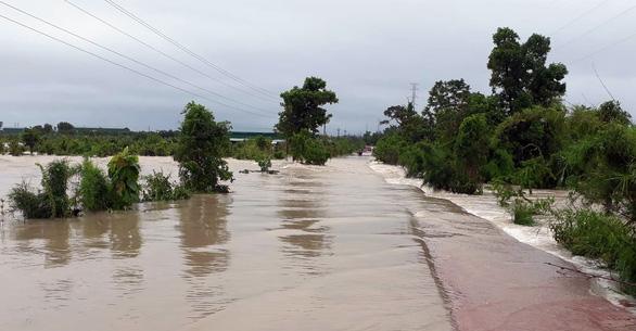 Mưa to kéo dài, hàng trăm ngôi nhà ở huyện biên giới Ea Súp bị ngập chìm - Ảnh 6.