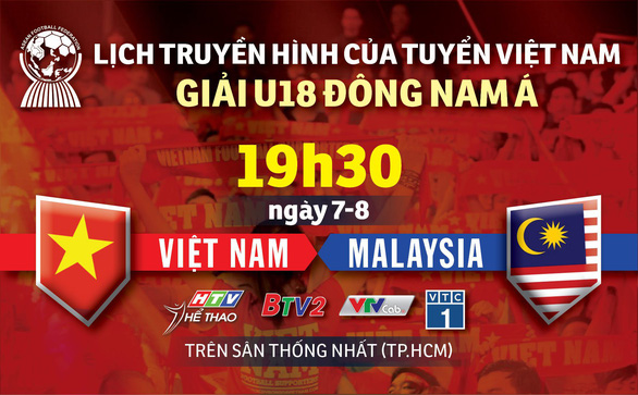 U18 Đông Nam Á 2019: Lịch trực tiếp trận ra quân của U18 Việt Nam - Ảnh 1.