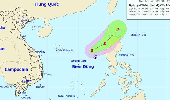 Áp thấp nhiệt đới gây gió giật cấp 8, Tây Nguyên, Nam Bộ có nơi mưa trên 80mm - Ảnh 1.