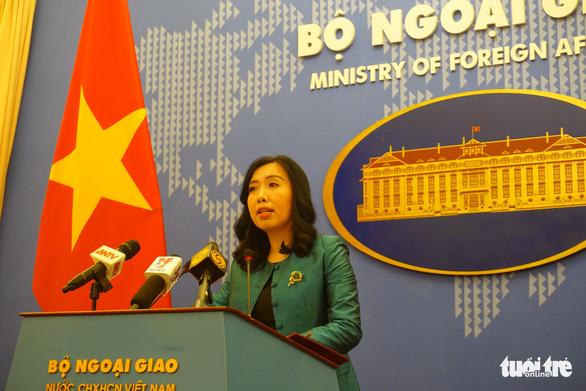 Việt Nam trao công hàm phản đối Trung Quốc huấn luyện quân sự trái phép ở Hoàng Sa - Ảnh 1.