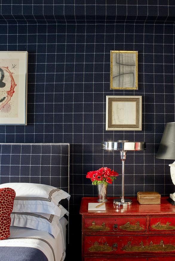10 mẫu giấy dán tường ấn tượng làm tăng nét cá tính cho phòng ngủ - Ảnh 2.