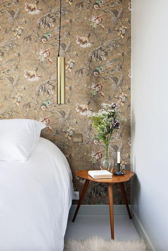 10 mẫu giấy dán tường ấn tượng làm tăng nét cá tính cho phòng ngủ - Ảnh 6.