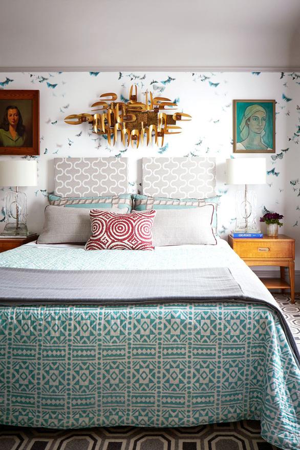 10 mẫu giấy dán tường ấn tượng làm tăng nét cá tính cho phòng ngủ - Ảnh 7.