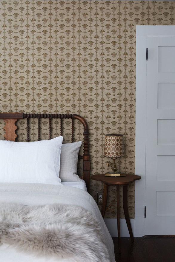 10 mẫu giấy dán tường ấn tượng làm tăng nét cá tính cho phòng ngủ - Ảnh 8.