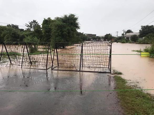 Mưa to kéo dài, hàng trăm ngôi nhà ở huyện biên giới Ea Súp bị ngập chìm - Ảnh 9.