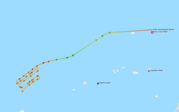 Nhóm tàu Trung Quốc rời EEZ, thềm lục địa Việt Nam - Ảnh 3.