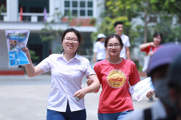Điểm chuẩn Trường ĐH Sư phạm Hà Nội nhiều ngành 22-26 điểm - Ảnh 1.
