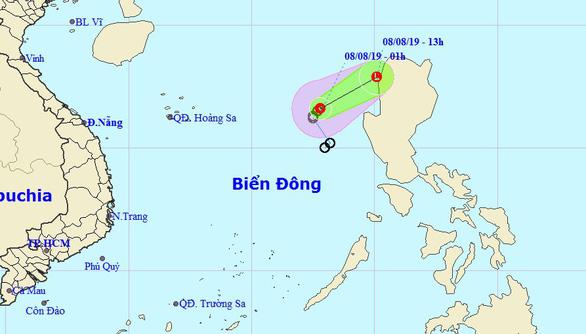 Áp thấp nhiệt đới suy yếu, Nam Bộ mưa vào chiều tối - Ảnh 1.