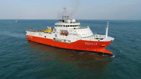 Bộ Ngoại giao: Tàu khảo sát Trung Quốc rút khỏi thềm lục địa, EEZ Việt Nam hôm 7-8 - Ảnh 1.