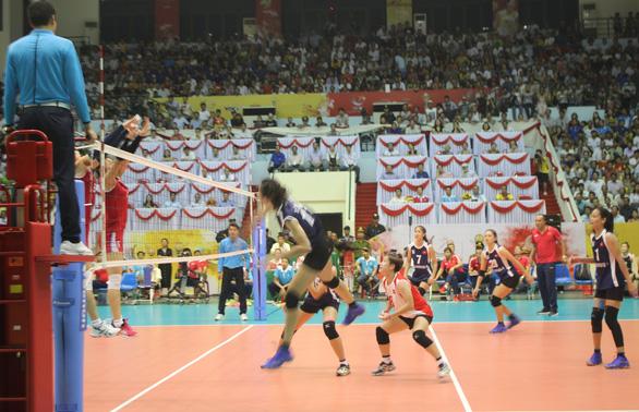 Tuyển nữ bóng chuyền Việt Nam nhọc nhằn thắng Triều Tiên vào chung kết - Ảnh 2.