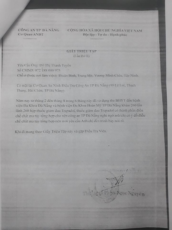 Đà Nẵng: rộ 'chiêu' giả công an để đe dọa, công an khuyến cáo người dân - Ảnh 2.