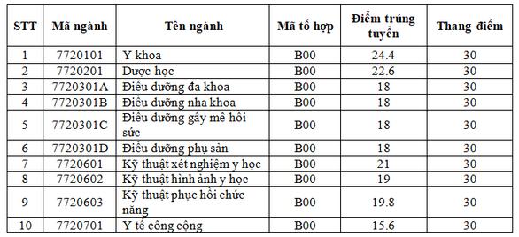 Thêm các trường ĐH ở Đà Nẵng công bố điểm chuẩn - Ảnh 1.