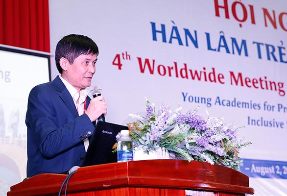 Đại học Duy Tân với hội nghị Hàn lâm trẻ toàn cầu lần thứ 4 - Ảnh 3.