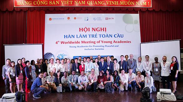 Đại học Duy Tân với hội nghị Hàn lâm trẻ toàn cầu lần thứ 4 - Ảnh 1.