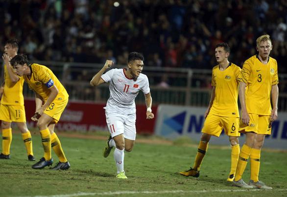 Việt Nam rơi vào thế khó khi thua Úc 1-4 ở Giải U18 Đông Nam Á 2019 - Ảnh 3.