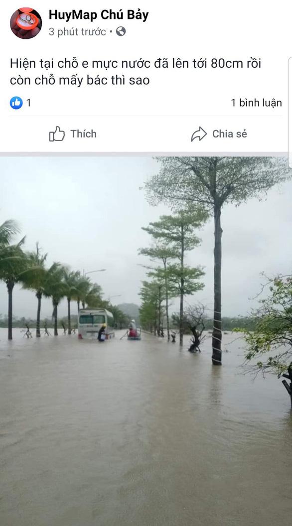 Mạng xã hội tràn ngập hình ảnh, bàn luận về ngập ở Phú Quốc - Ảnh 5.