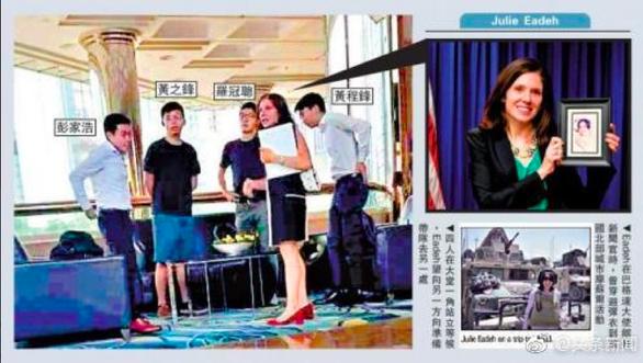 Mỹ - Trung khẩu chiến kịch liệt hiếm thấy về Hong Kong - Ảnh 2.