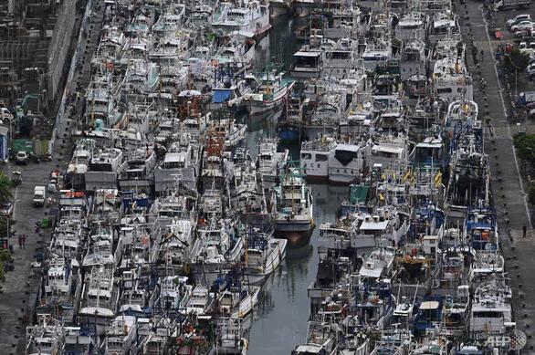 Đài Loan đóng cửa trường học, doanh nghiệp vì siêu bão Lekima - Ảnh 1.