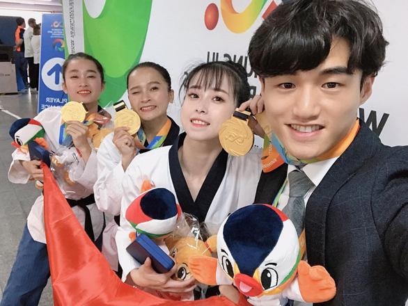 Taekwondo VN giành HCV tại Đại hội võ thuật thế giới 2019 - Ảnh 2.