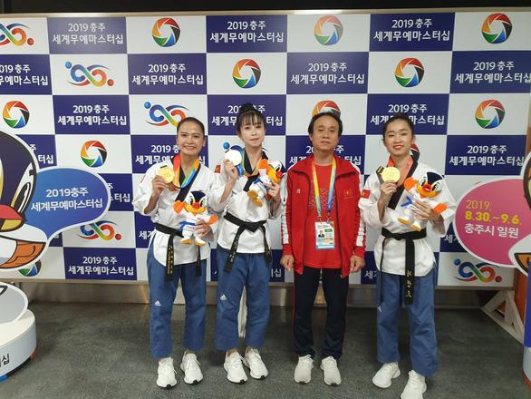 Taekwondo VN giành HCV tại Đại hội võ thuật thế giới 2019 - Ảnh 3.