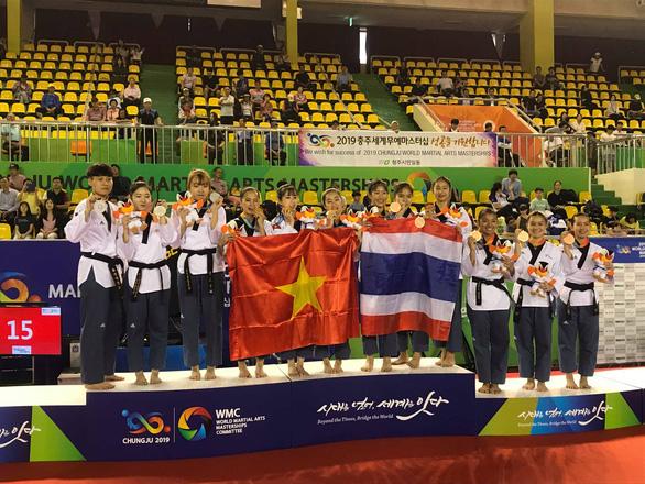 Taekwondo VN giành HCV tại Đại hội võ thuật thế giới 2019 - Ảnh 1.
