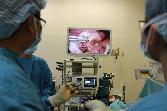 Phẫu thuật thành công cho thai phụ 33 tuần bị viêm ruột thừa cấp - Ảnh 1.