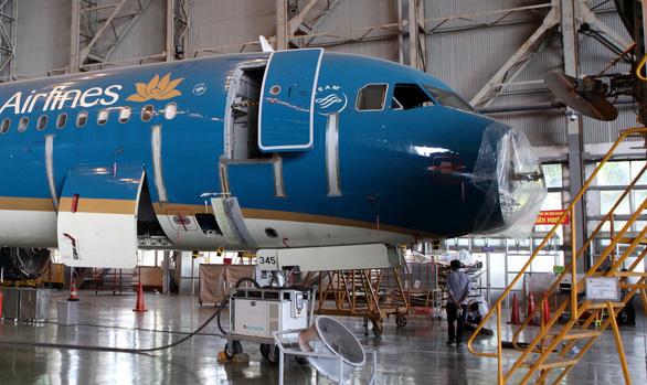 Máy bay Vietnam Airlines móp mũi, hỏng rađa do va chạm với... chim - Ảnh 1.