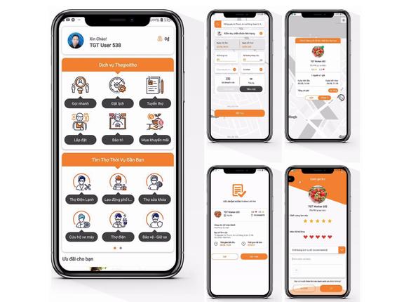 Startup Việt ra mắt ứng dụng 'uber' gọi thợ trên di động - Ảnh 1.