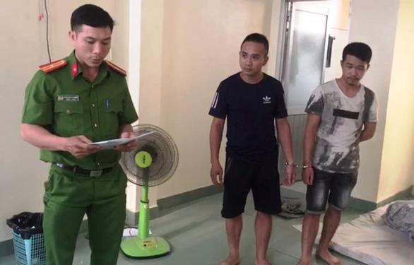 1 năm cho vay nặng lãi ở Tân Bình, 2 nghi phạm lãi 443 triệu - Ảnh 1.