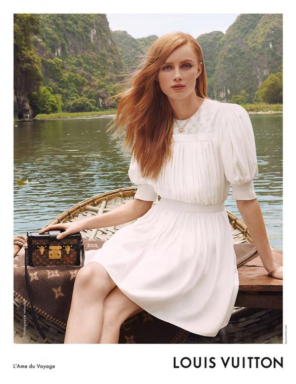 Hội An, vịnh Hạ Long, hoa sen Việt vào quảng cáo của Louis Vuitton - Ảnh 6.