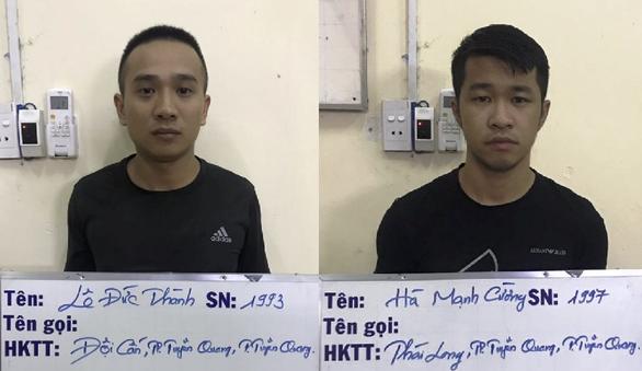 1 năm cho vay nặng lãi ở Tân Bình, 2 nghi phạm lãi 443 triệu - Ảnh 2.