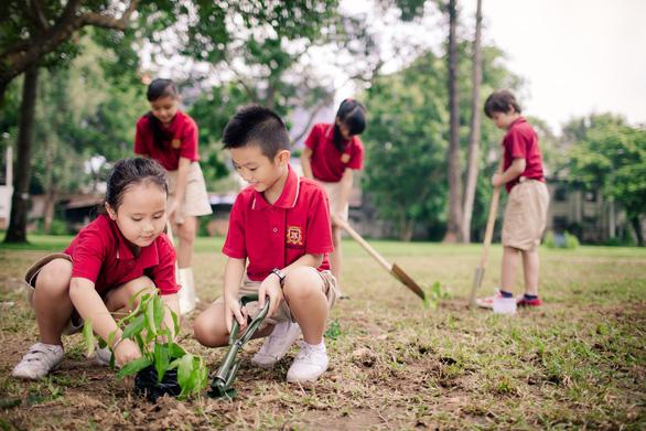 Học sinh Trường quốc tế Việt Úc nỗ lực nói không với rác thải nhựa - Ảnh 2.