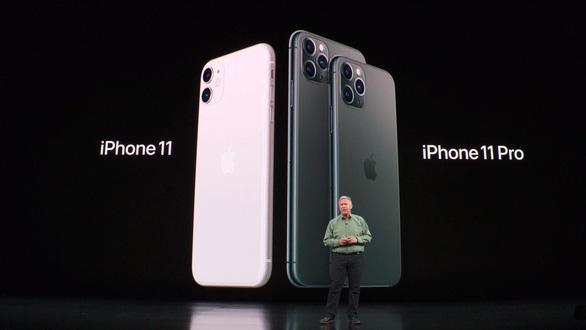 Apple ra mắt iPhone 11 Pro và Pro Max với 3 camera - Ảnh 1.