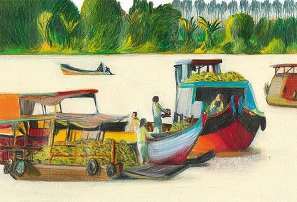 Hội An, vịnh Hạ Long, hoa sen Việt vào quảng cáo của Louis Vuitton - Ảnh 7.