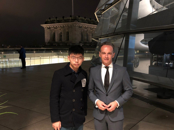 Trung Quốc gay gắt chuyện Ngoại trưởng Đức gặp Hoàng Chi Phong - Ảnh 1.