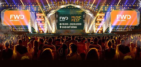 Nhiều nghệ sĩ sẽ góp mặt tại FWD Music Fest 2019 - Ảnh 1.
