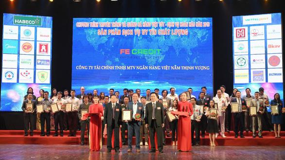 FE CREDIT lọt top 10 Hàng Việt tốt vì quyền lợi người tiêu dùng 2019 - Ảnh 2.