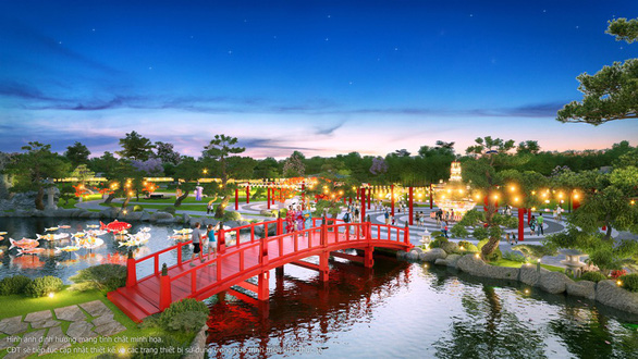 Ra mắt vườn Nhật tại Hà Nội - Ảnh 3.