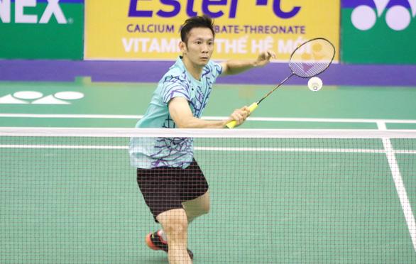 Đánh bại tay vợt Trung Quốc, Tiến Minh vào tứ kết Giải Việt Nam mở rộng - Ảnh 1.