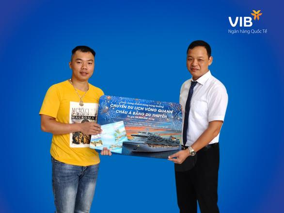 Chủ thẻ tín dụng VIB thứ 3 trúng cặp vé du thuyền châu Á - Ảnh 2.