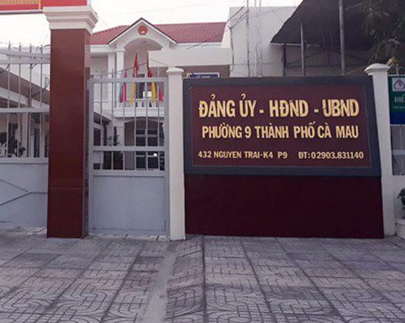 Cà Mau khởi tố vụ nguyên phó chủ tịch phường vận động tiền khi ký xác nhận đơn - Ảnh 1.
