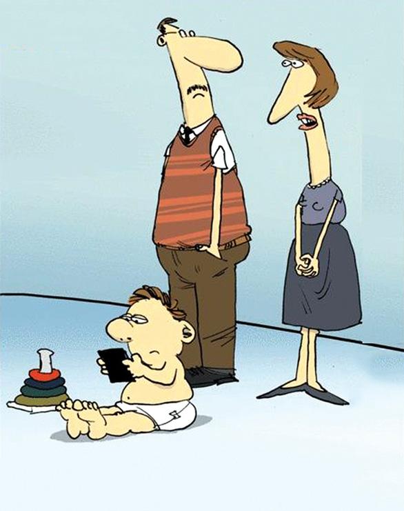 Con chậm nói: Trước mắt là điều trị bố mẹ - Ảnh 2.