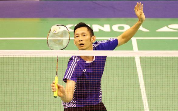 Tiến Minh bị loại ở tứ kết Giải cầu lông quốc tế Việt Nam mở rộng - Ảnh 1.