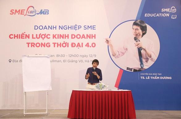 MB tổ chức Hội thảo Doanh nghiệp SME - Chiến lược kinh doanh trong thời đại 4.0 - Ảnh 1.
