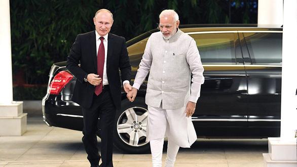 Ấn Độ - Thái Bình Dương, theo Modi và Putin - Ảnh 1.